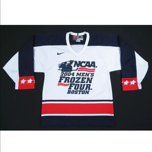 2004 NCAA Mens Frozen Four Boston NIke Team Jersey